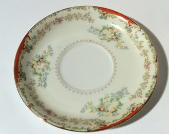 Vintage Occupied Japan Regal China Saucer 1945-1952, Lovely and Dainty