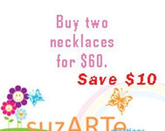 Special  offer on necklaces