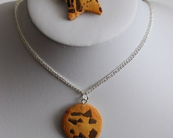 Cookie Necklace & Brooch Combo