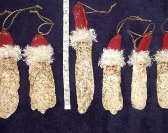 Old World Santa Ornaments/wall hangings