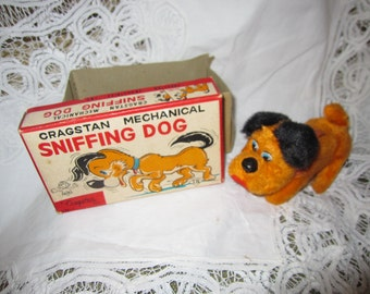 Dog Sniffing by Cragstan Mechanical Walks