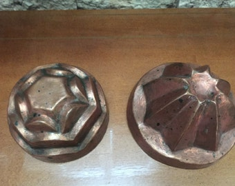 Vintage Possible Antique Copper Molds
