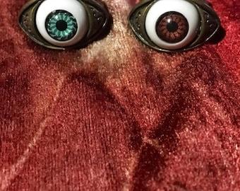 All Seeing Doll Eye Ring
