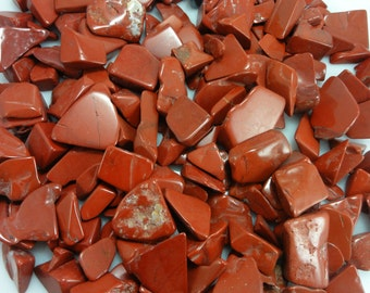 Red Jasper TUMBLED STONES Wholesale Lot By The Pound Parcel Gemstones