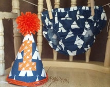 Teepee smash cake, Diaper cover smash outfit, Teepee birthday, one birthda, Teepee photo prop,