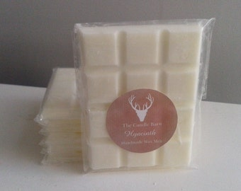 Exquisite Handmade Highly Scented Soy Wax Breakaway Melt Bar- HYACINTH