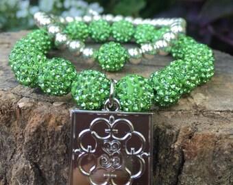 Green/silver set