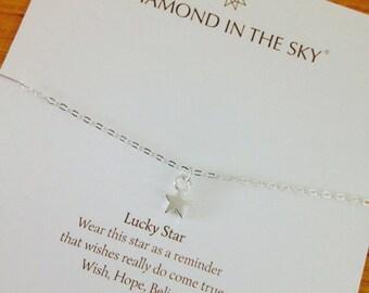 Lucky Star Bracelet on Gift Card