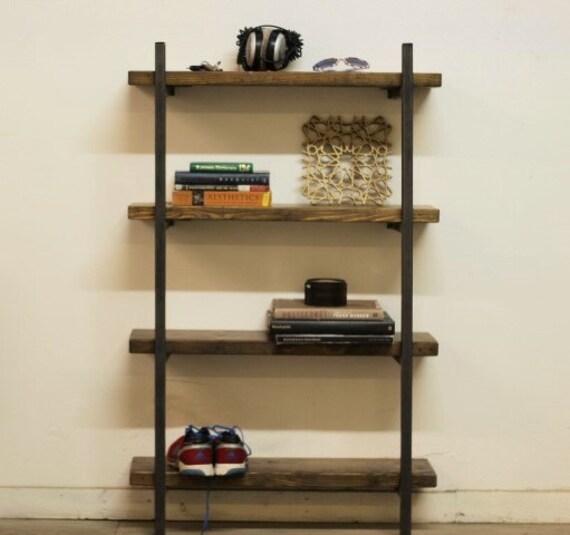 Double Wall Mounted Shelf Bracket Set Holds two shelves