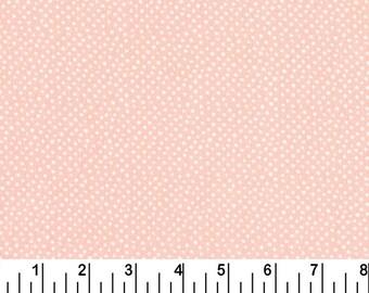 Mini Confetti Dots - Shell by Dear Stella (258-Shell) - Fabric Yardage