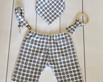 Cool Baby Clothes - Chic Baby Clothes - Modern Baby Clothes - Baby Pants Set - Boutique Baby Clothes - Hip Baby Clothes - Baby Shower Gift