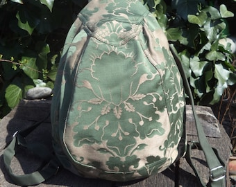 Floral small backpack