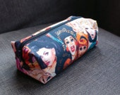 RuPaul's Drag Race illustrated and handmade make-up bag/pencil case. Exclusive to ThatAgnes!