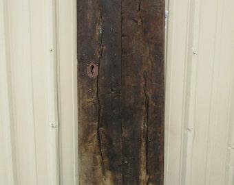Antique Heavy Mexican Old Door-Primitive-Rustic-20x71-Headboard-Table-Gorgeous-Barn Door-Solid-Great Look-Mesquite