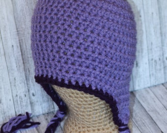 Basic Crochet  Earflap Beanie