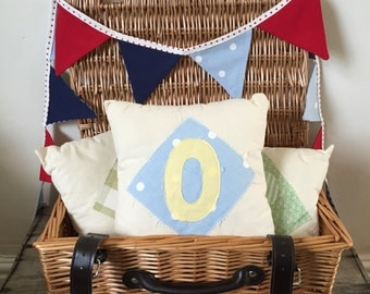 Mini Letter 'O' Cushion | Initial Cushion | Alphabet Cushion | Personalised Cushion | Mini Cushion | Letter Cushion