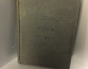 An Historical Poem by R. Wilbur Hinckley - 1894