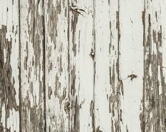 Weathered Painted Wood Photography Backdrop,Peeling Rustic Wood Plank Floor Drops for Newborns Children Studios photoshoot D-9199