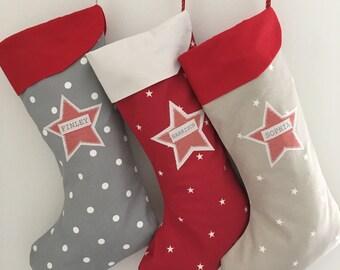 Personalised Christmas Stocking - Large