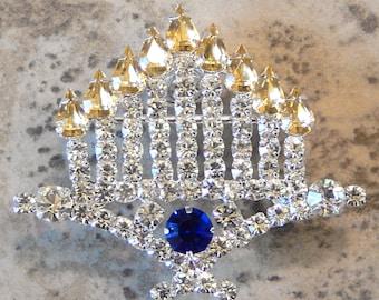 Menorah jewelry,Hanukkah gifts,Jewish wedding,Hanukkah pillow,Menorah jewelry,Jewsih gifts,shalom,mazel tov,Chanukkah,Hanakkuh