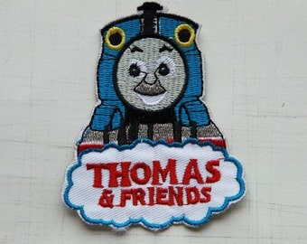 7 x 9cm, Thomas and Friends Iron On Patch (P-009)