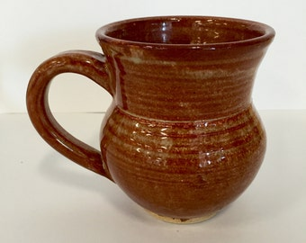 Brown Stoneware Mug