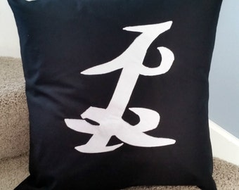 Shadowhunter Parabatai Rune Pillow Case based on The Mortal Instruments by Cassandra Clare / Shadowhunters Cushion Cover