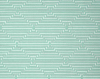 Sale! Birch Farm by Joel Dewberry - Chicken Coop Egg Blue - PWJD094.EGGBL - Freespirit Fabrics - Egg Blue, Sage, Mint by 1 YARD