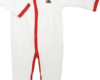 Texas Tech Red Raiders Baby Pleated Playsuit