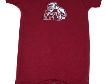 Mississippi State Bulldogs Team Spirit Baby Bodysuit
