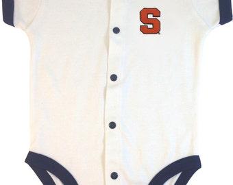 Syracuse Orange Baby Bodysuit Romper