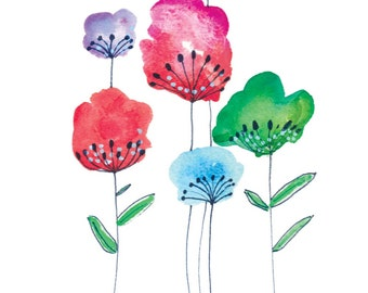 Card- Summer Blooms