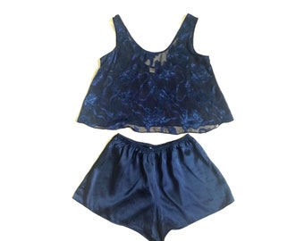 Vintage Victoria Secret 2 pc lingerie set