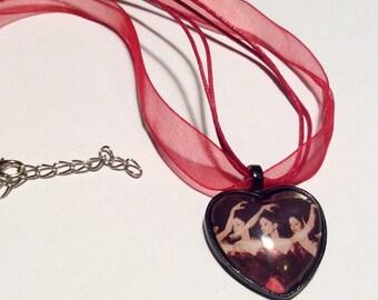 Ballet Dancers Necklace