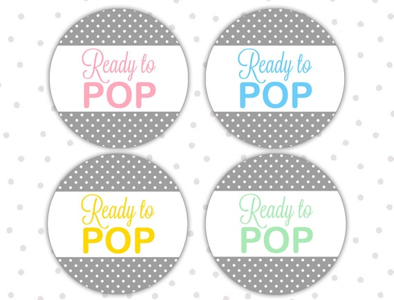Ready to pop stickers ready to pop labels ready to pop for Ready to pop stickers template