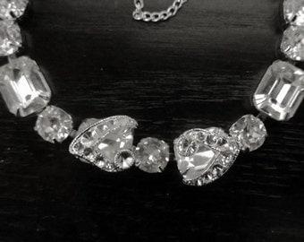 Gorgeous Eisenberg Rhinestones Bracelet - 1940s