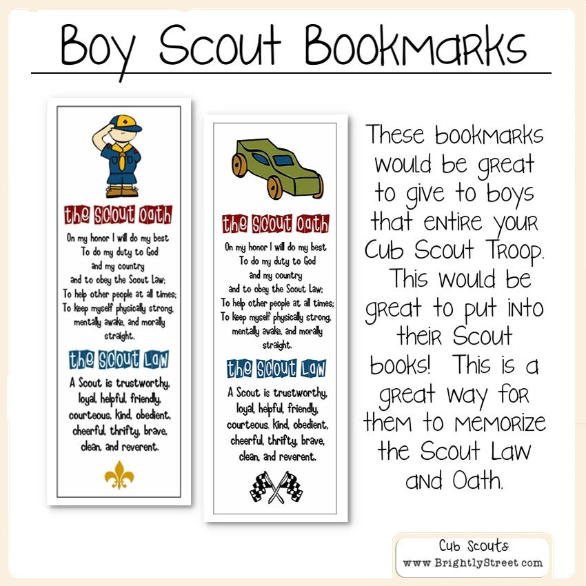 It is a photo of Candid Boy Scout Law Printable