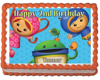 Team Umizoomi Cake Topper with FREE Personalization