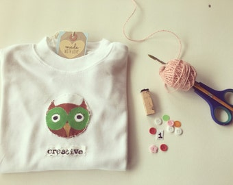 Owl baby clothes