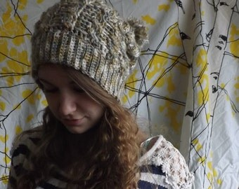 Crochetd Slouchy Toque