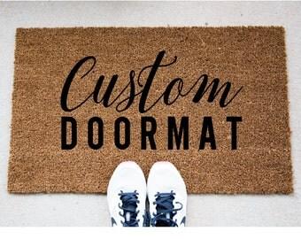 Custom Doormat - Funny Doormat - Personalized Welcome Mat - Funny Rug - Reminder Rug - Sassy Doormat - Sassy Doormat - Unique Doormat