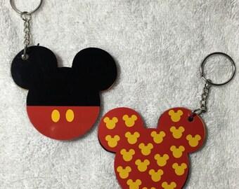 Mickey Personalized Acrylic Keychain