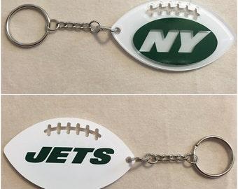 New York Jets Football Acrylic Keychain