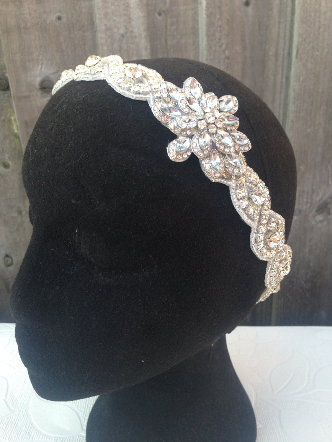 Vintage Wedding Headband 40