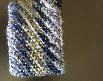 Blue and White Coffee Cozy