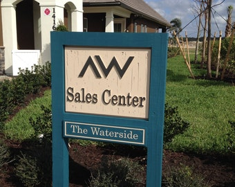Custom Commercial Signs. HDU signs. Housing signs.Builders signs. Business signs. Sales Center signs.