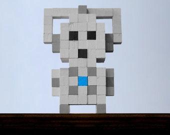 Cyberman Voxel Figure