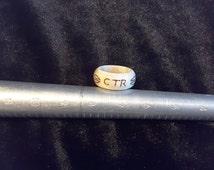 Rady to ship / Deer antler ring. Size 7.5