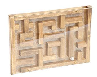 Wooden Marble Maze