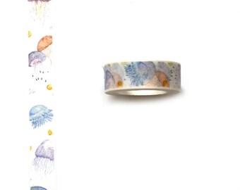 WASHISAMPLE colorful jellyfish